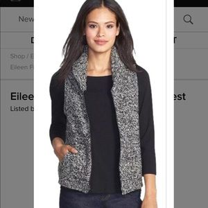 Eileen Fisher Yak and Wool Vest!